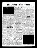 Acton Free Press (Acton, ON)18 Aug 1960