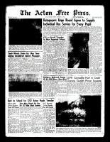 Acton Free Press (Acton, ON), September 1, 1960