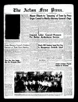 Acton Free Press (Acton, ON)13 Oct 1960