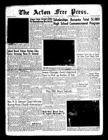 Acton Free Press (Acton, ON)10 Nov 1960