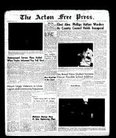 Acton Free Press (Acton, ON)19 Jan 1961
