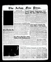 Acton Free Press (Acton, ON), March 16, 1961