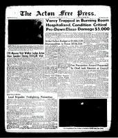 Acton Free Press (Acton, ON), April 13, 1961