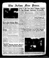 Acton Free Press (Acton, ON)27 Apr 1961