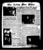 Acton Free Press (Acton, ON)13 Jul 1961