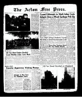 Acton Free Press (Acton, ON)24 Aug 1961