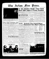 Acton Free Press (Acton, ON)26 Oct 1961