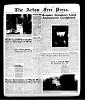Acton Free Press (Acton, ON)16 Nov 1961