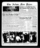 Acton Free Press (Acton, ON)7 Dec 1961