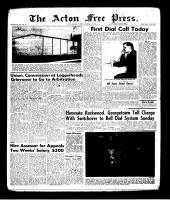 Acton Free Press (Acton, ON)14 Dec 1961
