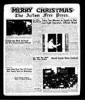 Acton Free Press (Acton, ON)21 Dec 1961