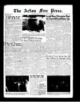 Acton Free Press (Acton, ON)15 Mar 1962