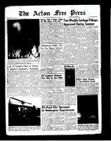 Acton Free Press (Acton, ON)12 Apr 1962
