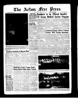 Acton Free Press (Acton, ON)19 Apr 1962