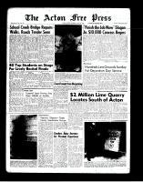 Acton Free Press (Acton, ON)7 Jun 1962