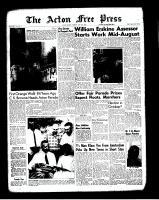 Acton Free Press (Acton, ON)12 Jul 1962
