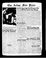 Acton Free Press (Acton, ON)26 Jul 1962