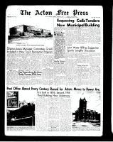 Acton Free Press (Acton, ON)2 Aug 1962