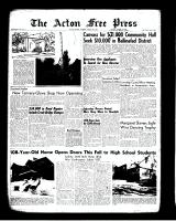 Acton Free Press (Acton, ON)9 Aug 1962