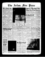 Acton Free Press (Acton, ON)13 Dec 1962
