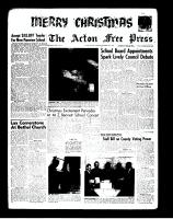 Acton Free Press (Acton, ON)20 Dec 1962