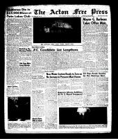Acton Free Press (Acton, ON), January 10, 1963