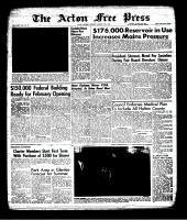 Acton Free Press (Acton, ON), January 17, 1963