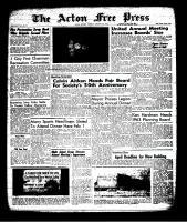 Acton Free Press (Acton, ON), January 24, 1963