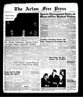 Acton Free Press (Acton, ON), February 7, 1963