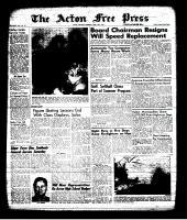 Acton Free Press (Acton, ON)18 Apr 1963