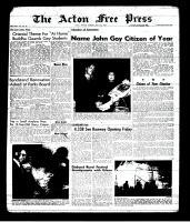 Acton Free Press (Acton, ON), May 2, 1963