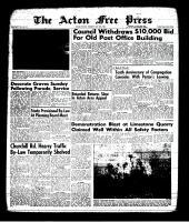 Acton Free Press (Acton, ON), May 30, 1963