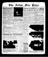 Acton Free Press (Acton, ON), June 6, 1963