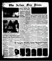 Acton Free Press (Acton, ON), July 11, 1963