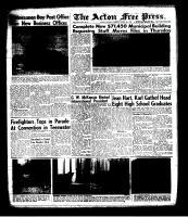 Acton Free Press (Acton, ON), August 8, 1963