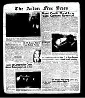 Acton Free Press (Acton, ON)15 Aug 1963
