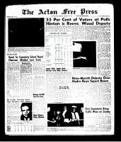 Acton Free Press (Acton, ON)5 Dec 1963