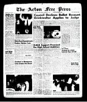 Acton Free Press (Acton, ON), December 12, 1963