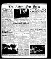 Acton Free Press (Acton, ON)13 Aug 1964