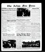 Acton Free Press (Acton, ON), October 8, 1964