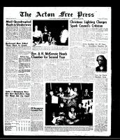 Acton Free Press (Acton, ON), December 16, 1965