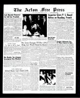 Acton Free Press (Acton, ON), February 3, 1966
