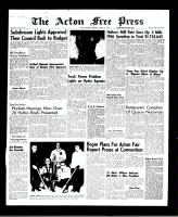 Acton Free Press (Acton, ON), March 31, 1966