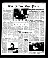 Acton Free Press (Acton, ON)20 Oct 1966