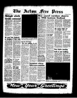 Acton Free Press (Acton, ON), December 29, 1966