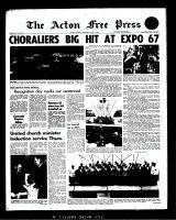 Acton Free Press (Acton, ON), July 5, 1967