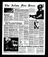 Acton Free Press (Acton, ON)24 Jan 1968