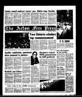 Acton Free Press (Acton, ON), October 22, 1969