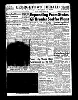 Georgetown Herald (Georgetown, ON)3 Feb 1966