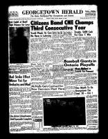 Georgetown Herald (Georgetown, ON)1 Sep 1966